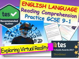 Reading Comprehension - Virtual Reality