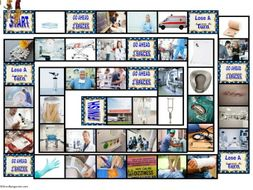Hospitals, Pharmacies and Drugs Animated Board Game