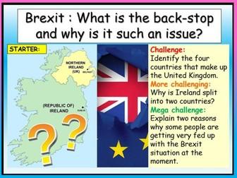 Brexit - Irish Back-Stop