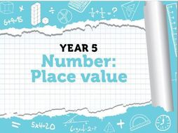 Year 5 - Place Value - Week 1 - Numbers to 10,000, Roman Numerals & Rounding