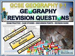 GCSE Geography Revision Physical + Human landscape Development Hazards