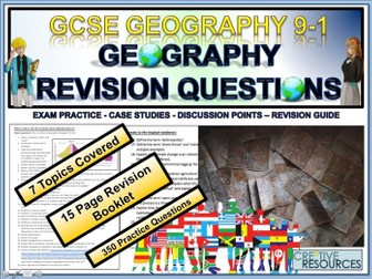 GCSE Geography Revision Physical + Human landscape Development Hazards
