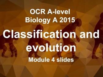 Classification & Evolution slides (OCR A level Biology A 2015)
