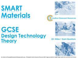 GCSE DT Theory (New Spec) – SMART Materials