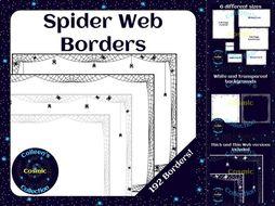 Spider Web Borders