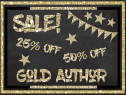 Gold Author Design Clipart