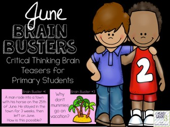 June Brain Busters