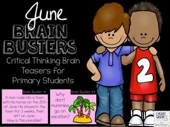 June Brain Busters