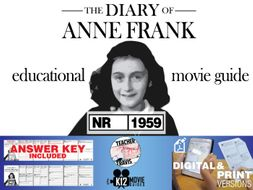 The Diary of Anne Frank Movie Guide   Questions   Worksheet (NR - 1959)