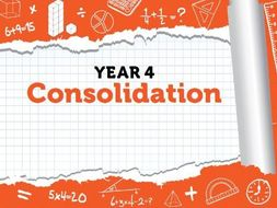 Year 4 - Consolidation - Spring - Week 12