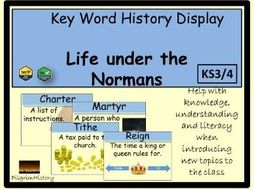 Life under the Normans Display
