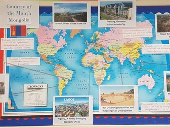 Geography classroom displays by awoods24 teaching resources tes gumiabroncs Image collections