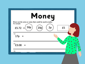 Money- Home Learning Creating Amounts Using Different Coins