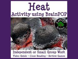 Heat Activity using BrainPOP