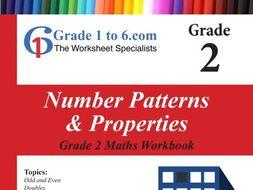 Number Pattern & Properties: Grade 2 Maths Workbook from www.Grade1to6.com Books