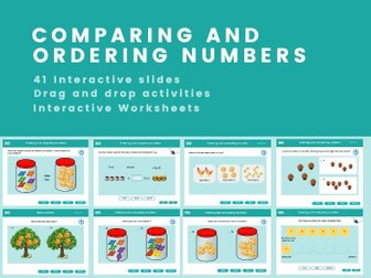 Ordering & Comparing Numbers - Year 1, Key stage 1