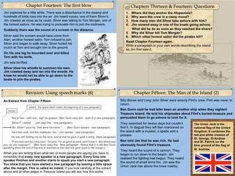 Treasure Island Part Three Slide Pack