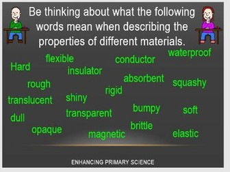 PROPERTIES OF MATERIALS (Y5)