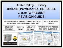 Power and the People Revision Guide AQA 9-1 GCSE