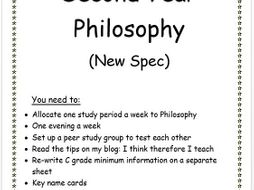 Philosophy Revision Pack: A2 New Spec
