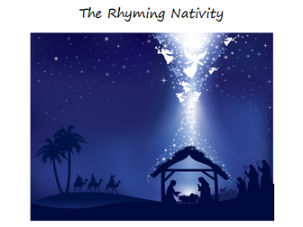 The ORIGINAL Rhyming Nativity EYFS & KS1