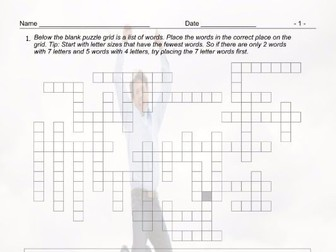 Present Simple Tense with Question Words Framework Crossword Worksheet