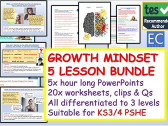 Growth Mindset : Growth Mindset Unit