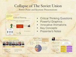 The Collpase of the Soviet Union Power Point and Keynote Presnetations