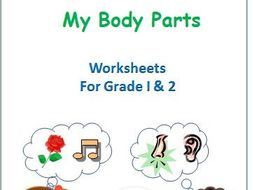Body Parts and Sense Organs for Grade 1 and 2 by Ritureddi ...