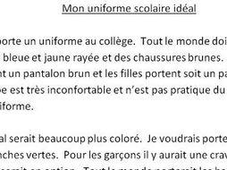 an ideal school paragraph