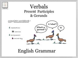 English Grammar: Present Participles & Gerunds