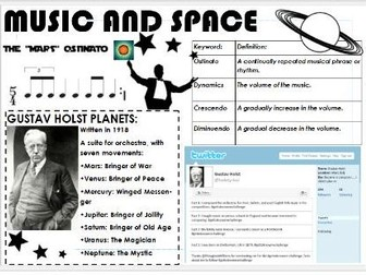 Music and Space Scheme of Work