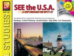 See the USA: Reading Comprehension & Mapping Activities