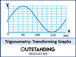 Trig Graphs 4 - Transforming Trig Graphs (+ worksheet)