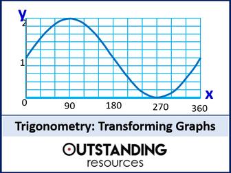 Trig Graphs 4 - Transforming Trig Graphs (+ worksheet)