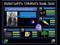 Roald Dahl Children's Book Quiz - Ideal for World Book Day and  Roald Dahl Day