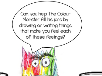 The Colour Monster Feelings Jar Activity Teaching Resources