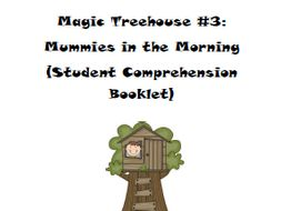 Magic Tree House Book 3: Mummies in the Morning Reading Comprehension Packet