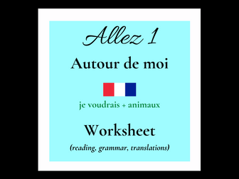 je voudrais - French - animals (Allez 1 3.3)