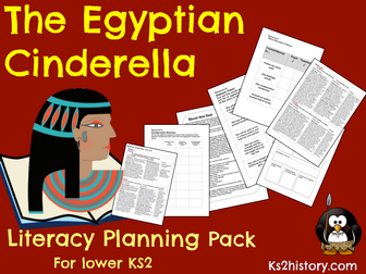 Egyptian Cinderella Planning  (Egyptians Topic)