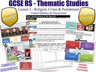 Religion, Crime & Punishment - Big Debates - L2/10 [GCSE RS - Thematic Studies - Christian Views]