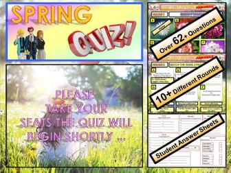 Easter Quiz -Spring  End of Term