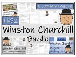 LKS2 History - Winston Churchill Reading Comprehension & Biography Bundle
