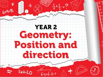 Position and  Direction:  Year 2 - Summer Term - White Rose Maths