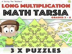 Long Multiplication Tarsia Puzzle Activity By Adamjharvey245