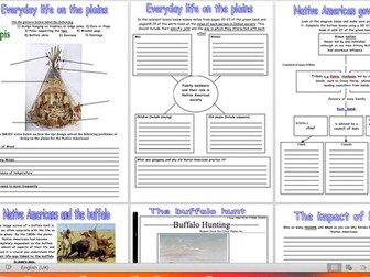 Native Americans workbook / booklet