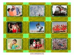 Holidays & Festivals Around the World Cards 4 Pages = 36 Cards