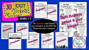 30-Exit-Tickets.zip