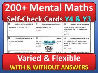 Mental Maths Year 4 / 3