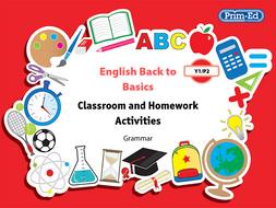 ENGLISH BACK TO BASICS: YR1/P2 GRAMMAR UNIT